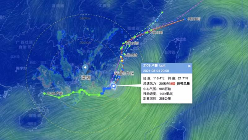 """台风""""卢碧""""5日登陆!路径诡异""""逆向行驶""""!深圳接下来的天气..."""