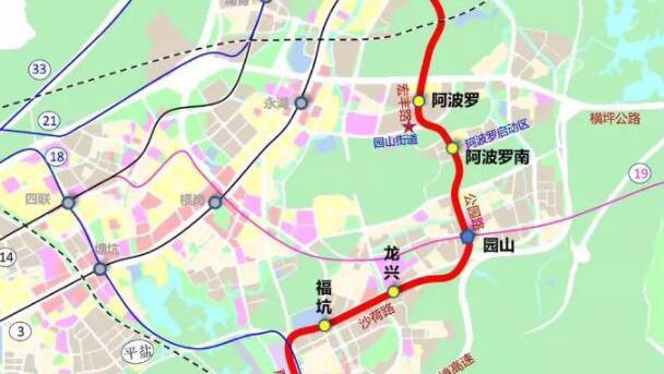 地铁16号线二期全线站点多图闪现 预计2025年建成通车