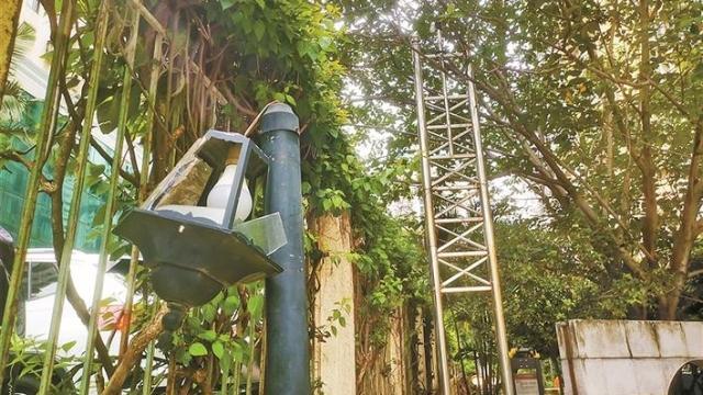社区公园设施破损存隐患 新谊社区工作站称已申请修缮资金尽快入场施工