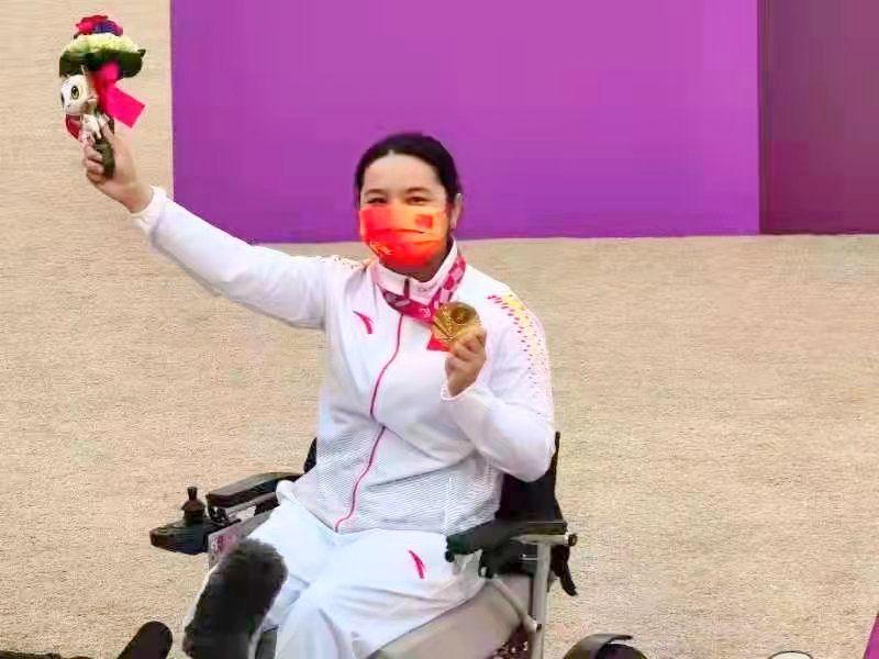 东京残奥会女子射箭W1级比赛,东莞籍运动员陈敏仪再添一金!