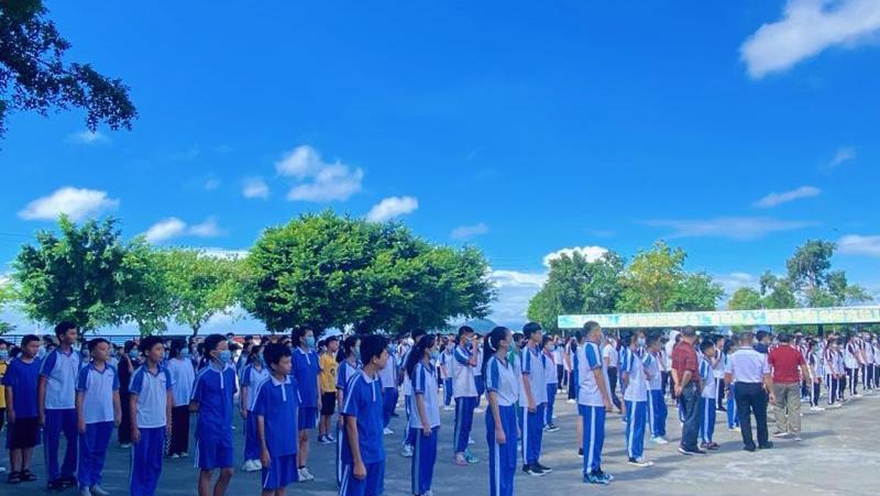 扬帆追梦!深汕特别合作区鲘门中学迎来开学第一天!
