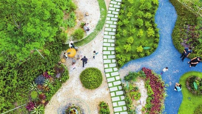 """好山水""""出圈""""!光明区打造立体式特色化公园体系"""