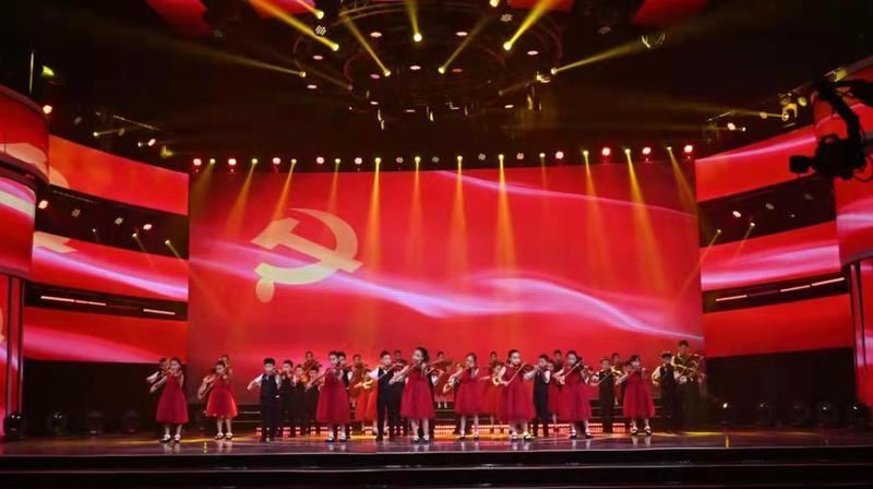 深圳太子湾学校小提琴社完成CCTV【童心向党歌唱祖国】节目录制