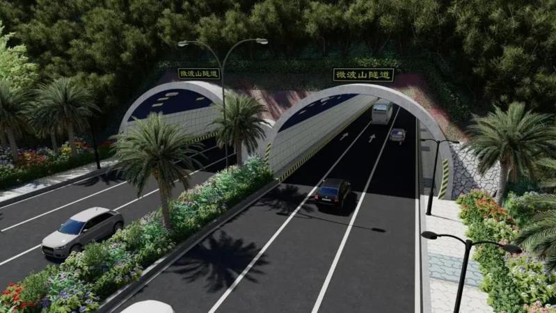 蛇口交通传喜讯!微波山隧道工程中导洞顺利贯通!