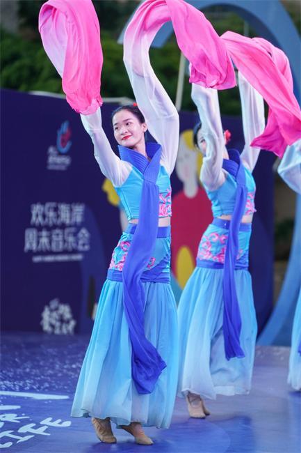 """欢乐海岸""""周末音乐会""""恢复演出 文化惠民滋润群众幸福生活"""