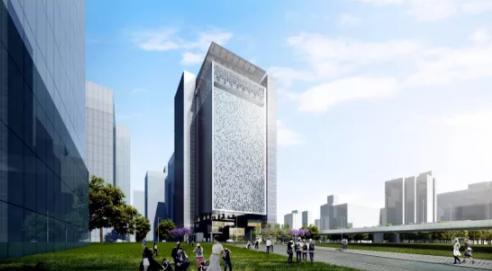 全国首个百米超高层信息枢纽中心建设有新进展!