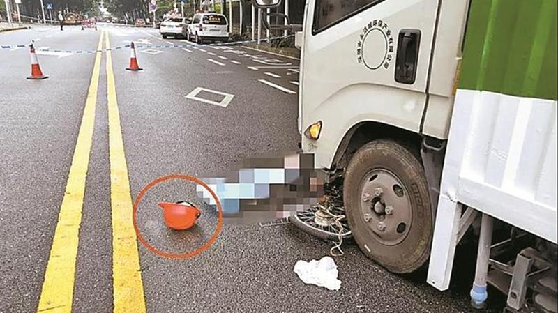 环卫车闯红灯导致一人死亡 肇事司机企业股东双双刑拘