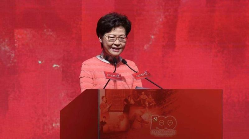 林郑月娥祝贺国家航天员飞行任务圆满成功