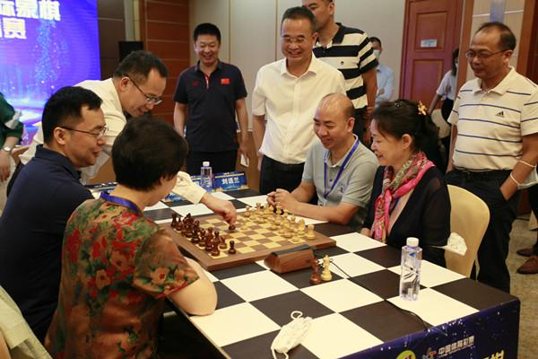 12名国象大师!深圳罗湖国际象棋奥赛元老邀请赛开幕