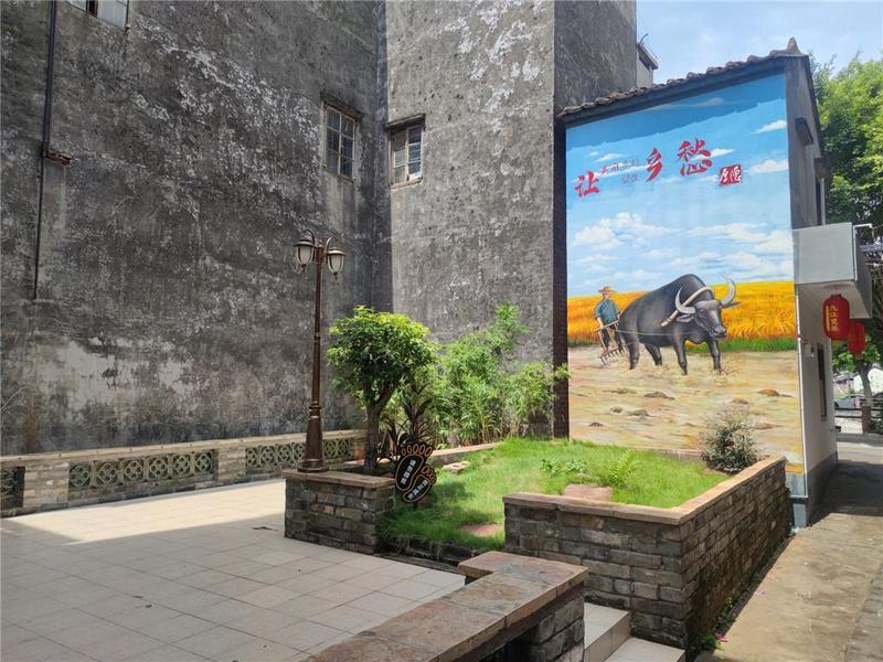 因地制宜打造公园小景,东莞市厚德村变靓了