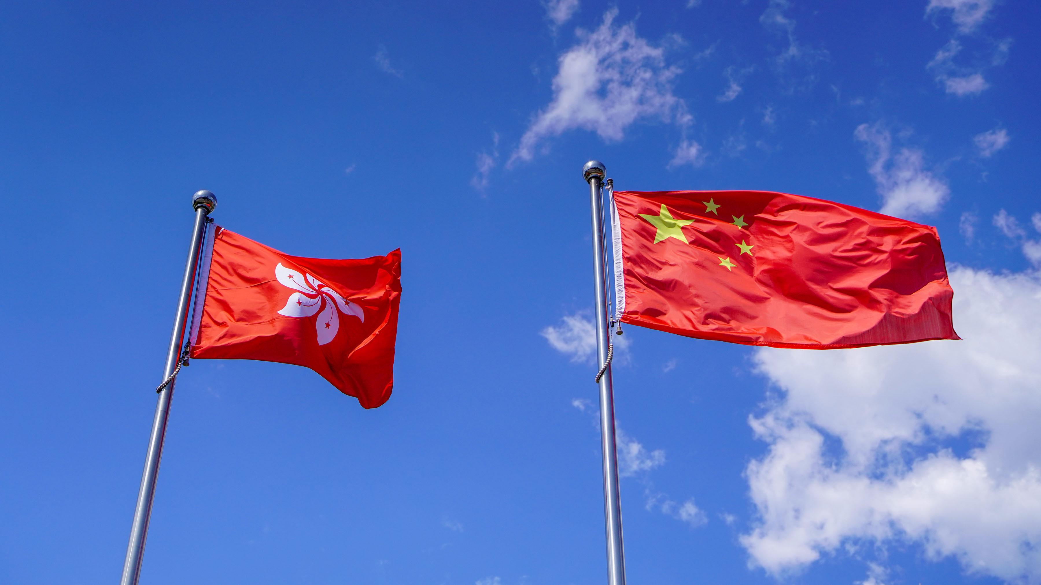 香港特区立法会三读通过《2021年国旗及国徽(修订)条例草案》