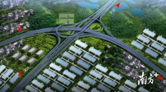 二期工程主线全线贯通!深圳外环高速坪山坑梓段取得突破性进展