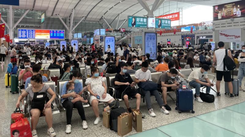 这个国庆假期你出行了吗?黄金周深圳到发旅客459.79万人次