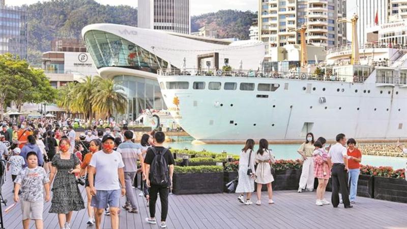 国庆假期深圳接待游客568万人次
