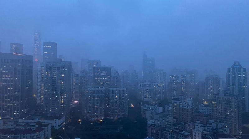 """台风""""狮子山""""远离""""圆规""""将接力 10日深圳局部可达暴雨"""