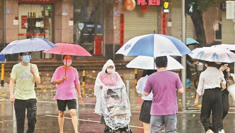 我市连续两天大暴雨 今日降雨趋于结束