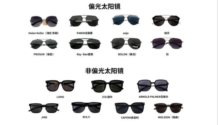 太阳眼镜怎么选?看看这15款的比对测试就知道了