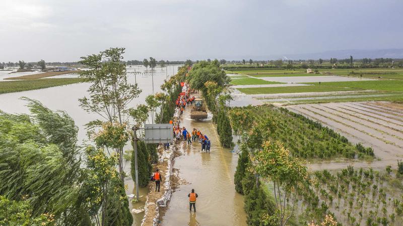 村庄被淹,近2万人转移!山西暴雨有多严重?保供电煤,山西煤企出手
