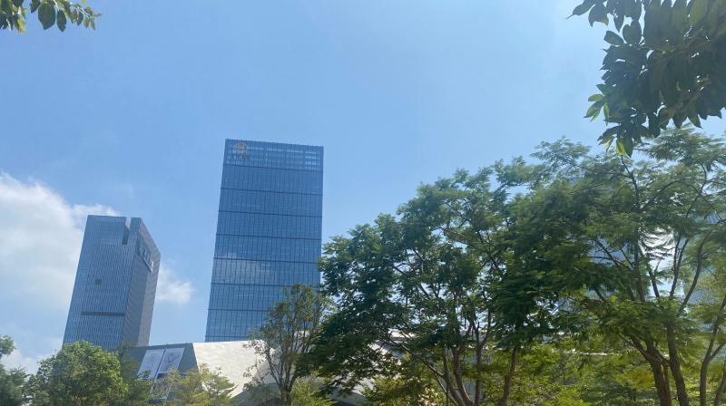 深圳台风白色和强季风蓝色预警生效中 11日白天最大阵风达8级