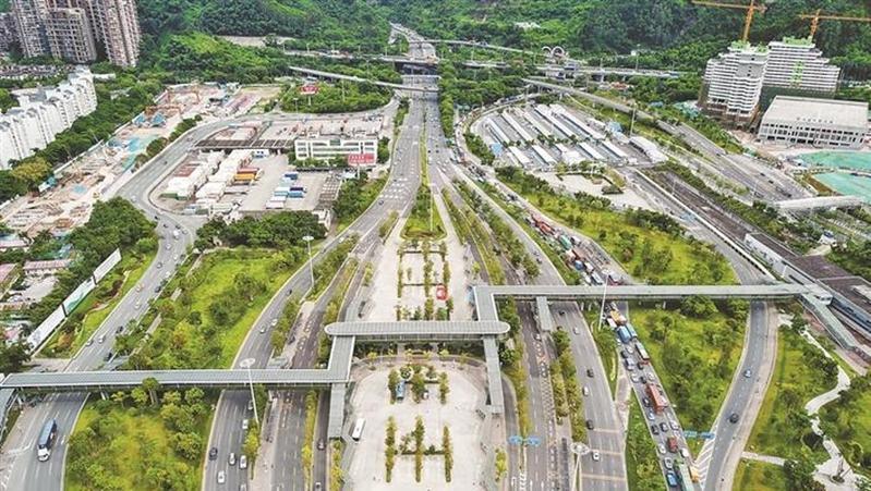 梅林关将大规模升级改造 未来龙华与福田中心区将实现无障碍联融发展