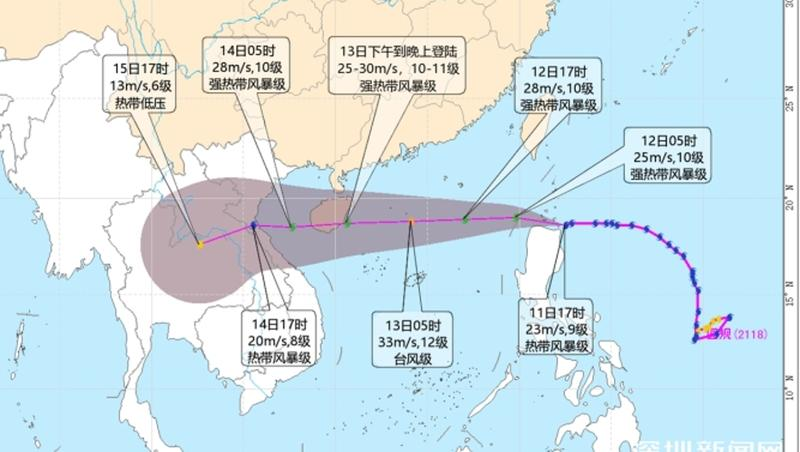 """光明区启动防台风IV级应急响应 加强值班值守 全力防御台风""""圆规"""""""