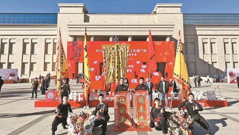 对口援疆19省市非物质文化遗产展开幕 深圳非遗新疆亮绝活