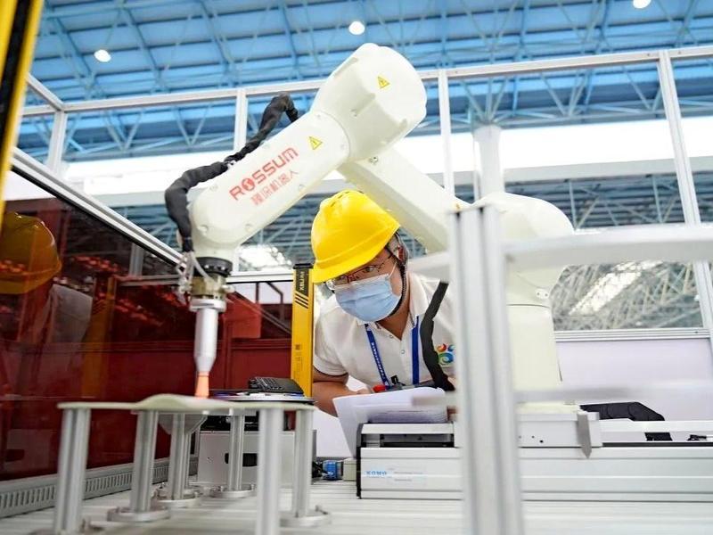 近1000名选手竞技!广东省新职业技术技能大赛在东莞举行